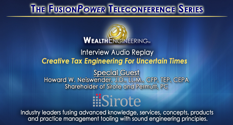 The FusionPower Teleconference Series